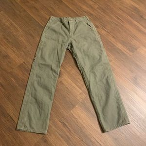Carhartt green pants